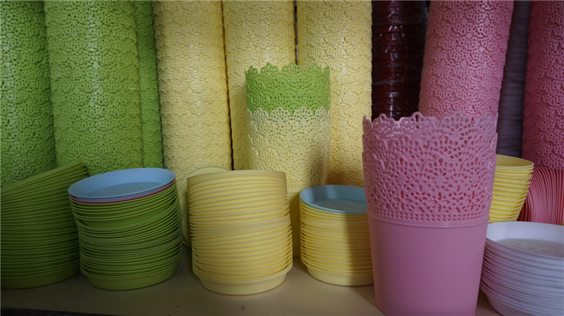 厦门可靠的绿化工程-漳州塑料花盆