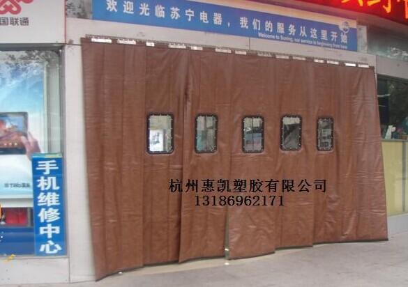 杭州地区特价皮革棉门帘,:棉门帘价格