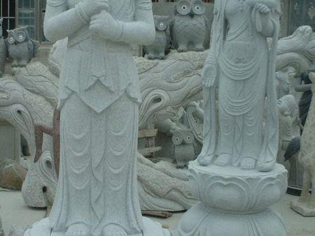 人物雕刻 佛像石雕 石雕观音