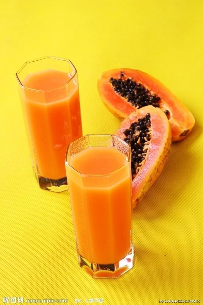 广州哪里有价位合理的天然素食无添加木瓜汁供应_优质的木瓜汁