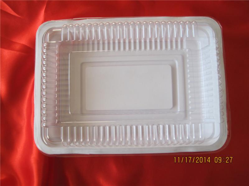 鑫洋供应同行中性价比高的羊肉片塑料盒 羊肉片塑料盒加工厂