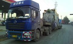 西安到徐州連云港南京吊車航吊水泥罐車自卸車灑水車大件物流運輸