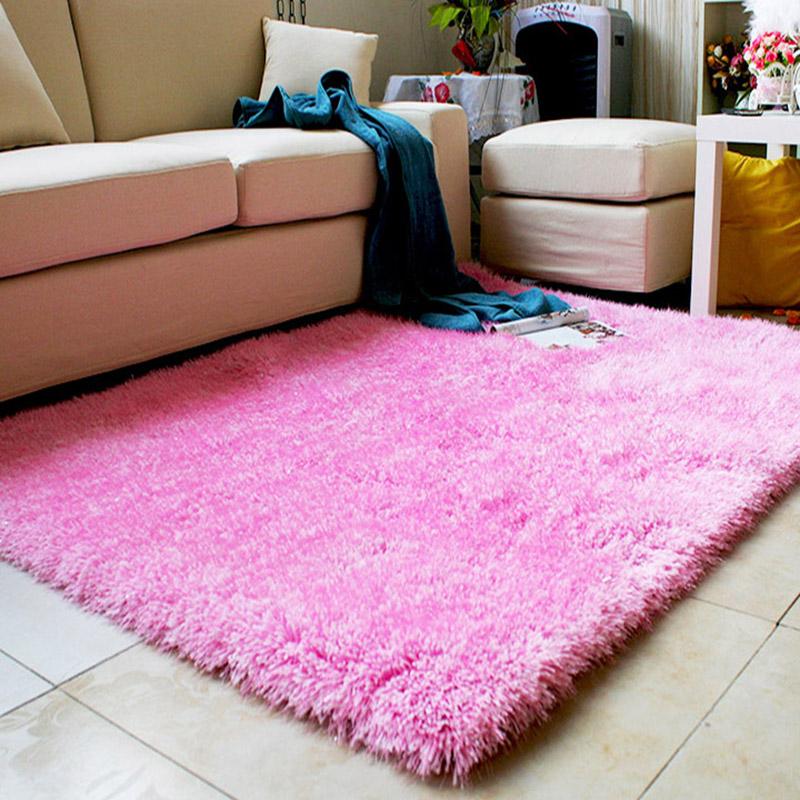 【昕佳琪】天津廠家批發出口客廳臥室長毛彈力絲地毯