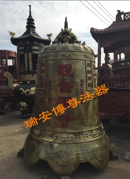 道教佛教大铜钟|品牌好的喇叭口形铜钟厂家批发