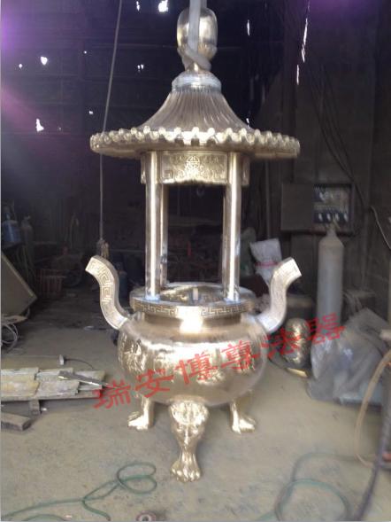 圆形香炉价格,瑞安博尊法器_专业的圆形香炉供应商