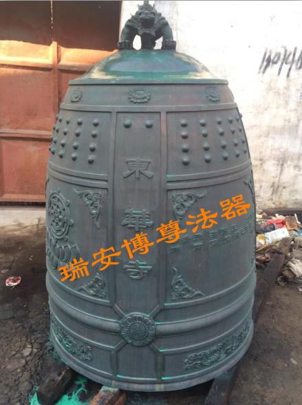 杭州预定铜钟厂家——精致的冬瓜钟供应