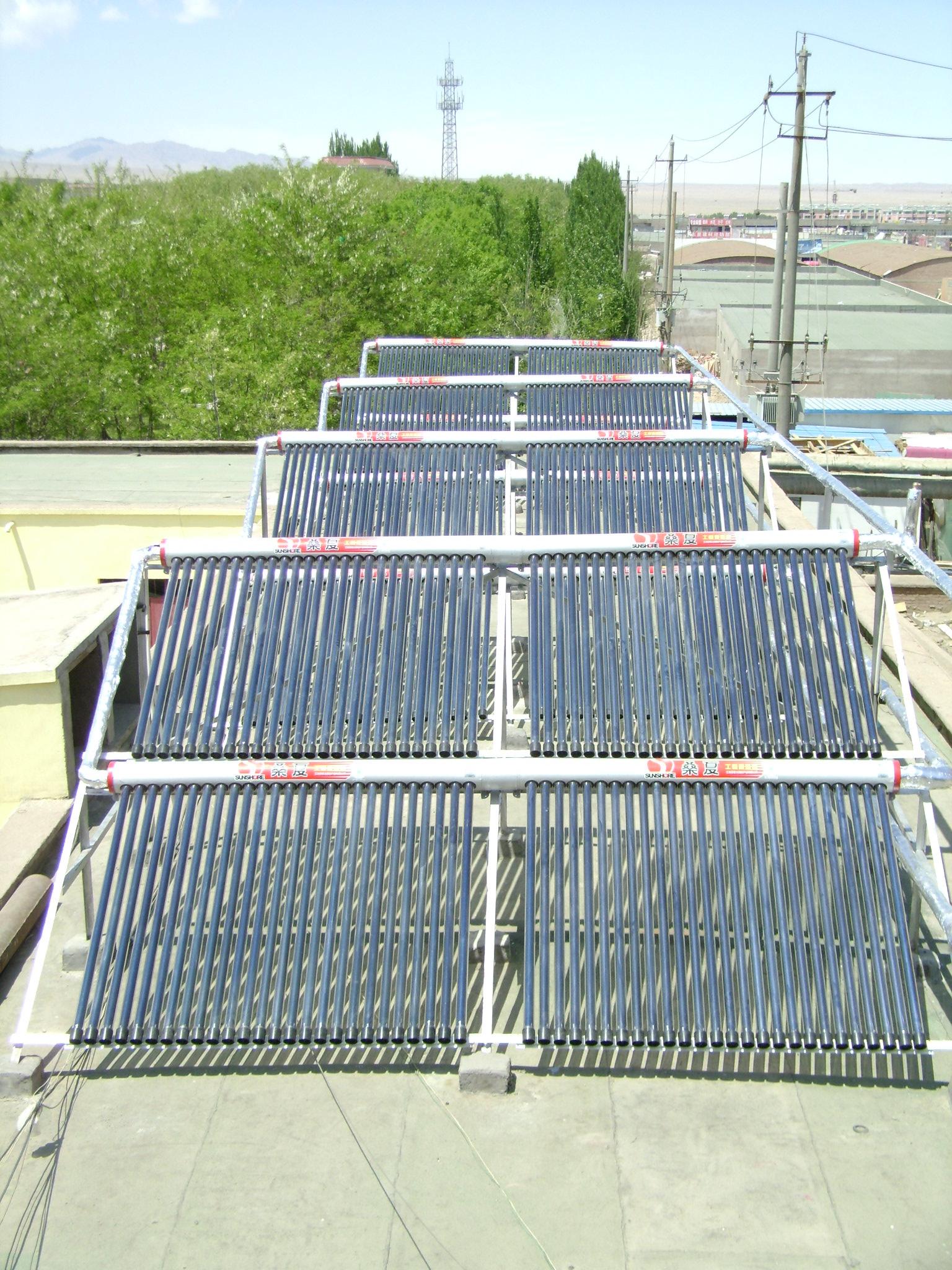 興安盟賓館熱水工程-口碑好的太陽能熱水器在蘭州哪里有供應