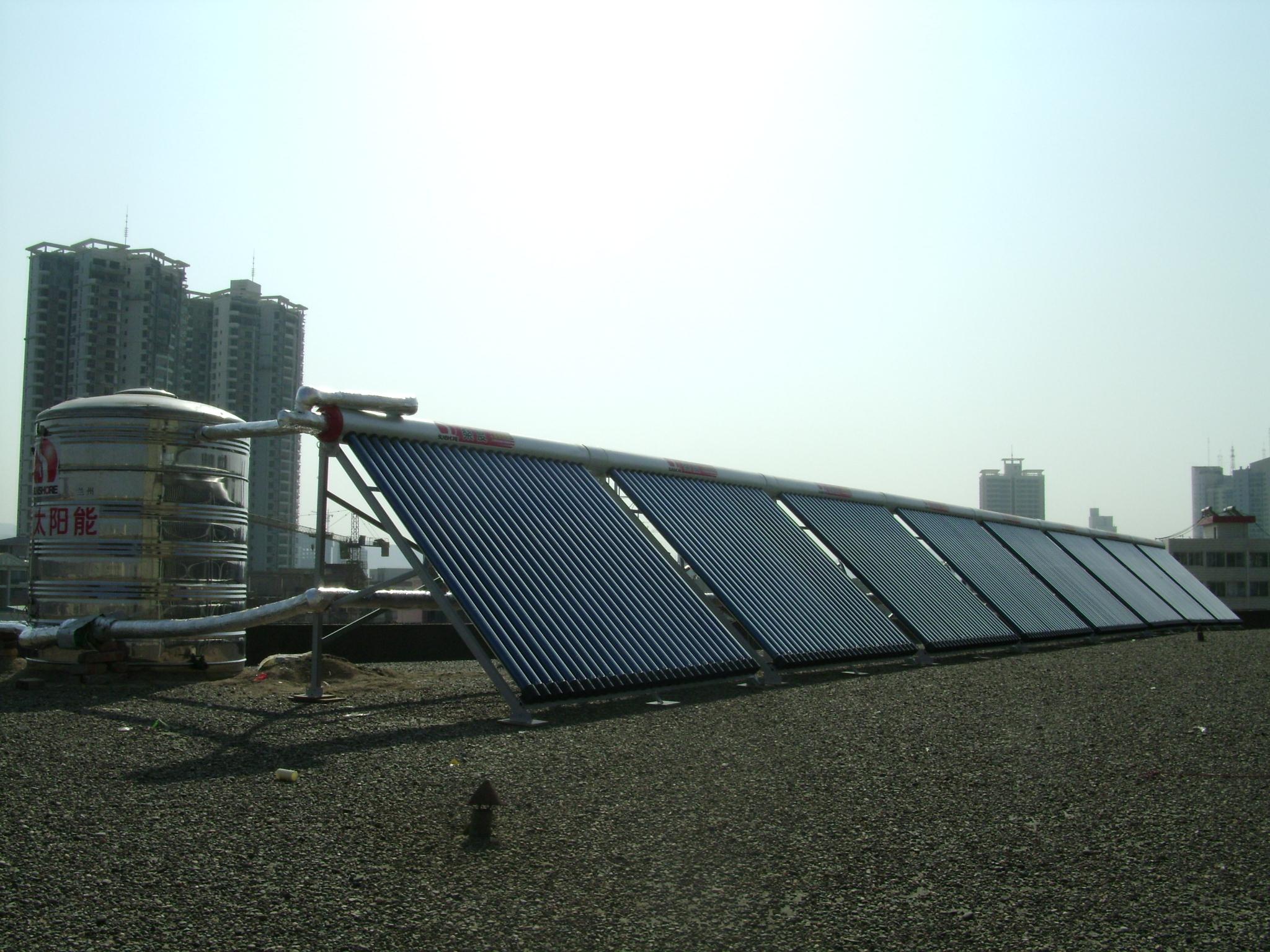 甘南宾馆热水工程-性价比高的太阳能热水器宁太商贸供应
