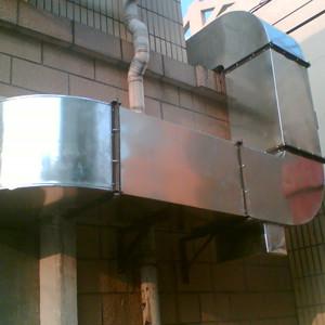 金昌空調管道_盛藍共板法蘭通風管道實用的油煙管道供應