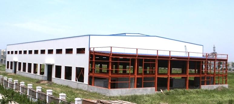 真顺恒达工业厂房钢结构