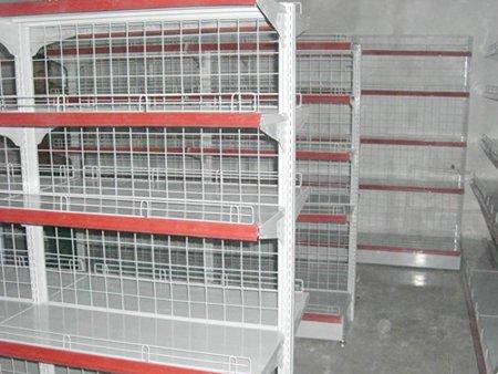 中心背板式超市货架