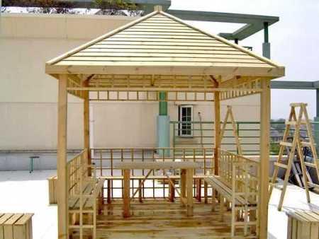 南宁户外木制品厂家定制直销木桌椅