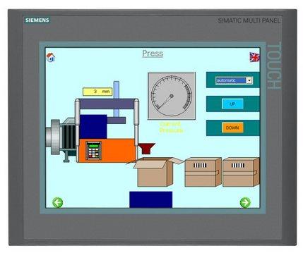 西安西门子触摸屏 人机界面 文本显示器