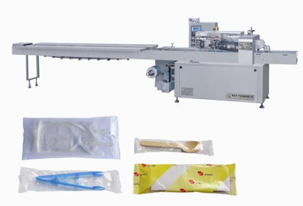 多功能枕式版块全自动包装机