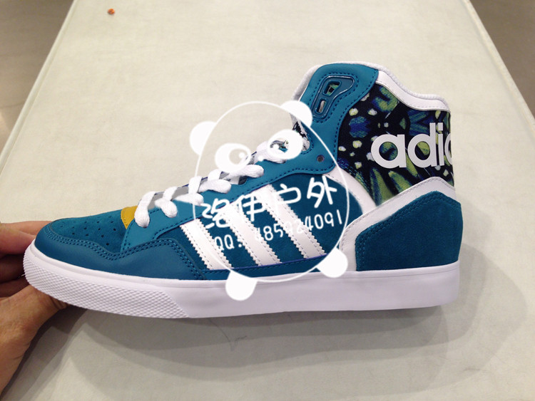 adidas三叶草女范冰冰高帮休闲板鞋