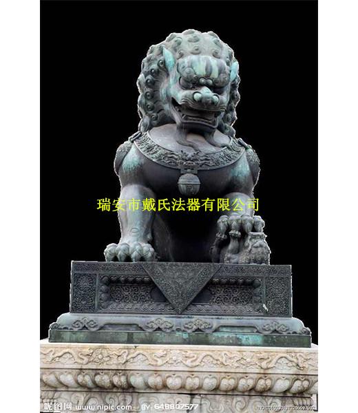 哪里提供铜狮子制作_白山铜雕狮子