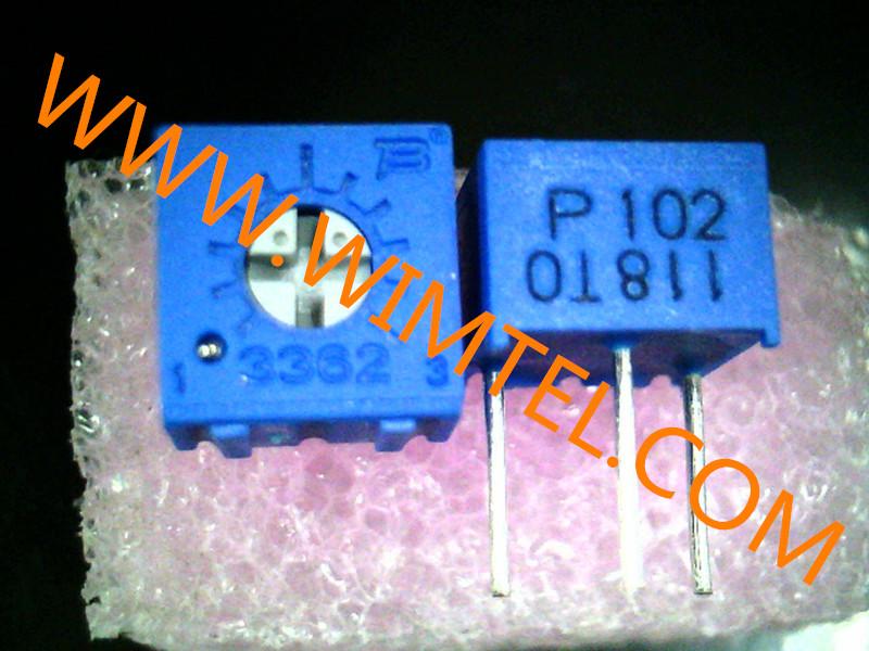 深圳威敏特供应全省品质好的电位器,3362电位器接法