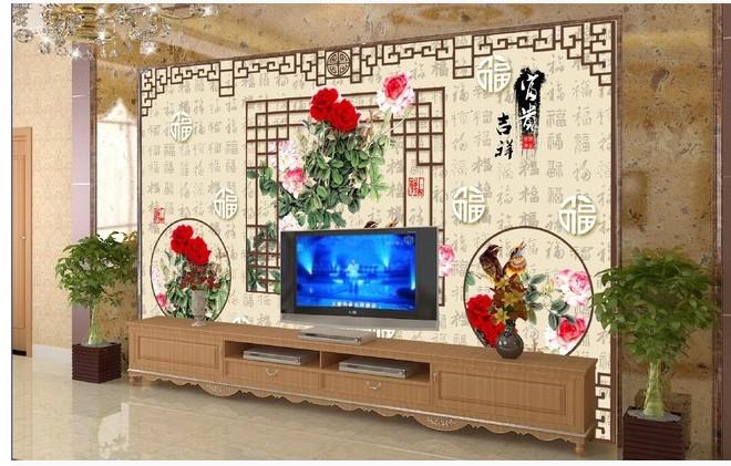 瓷砖店面形象墙装修效果图大全