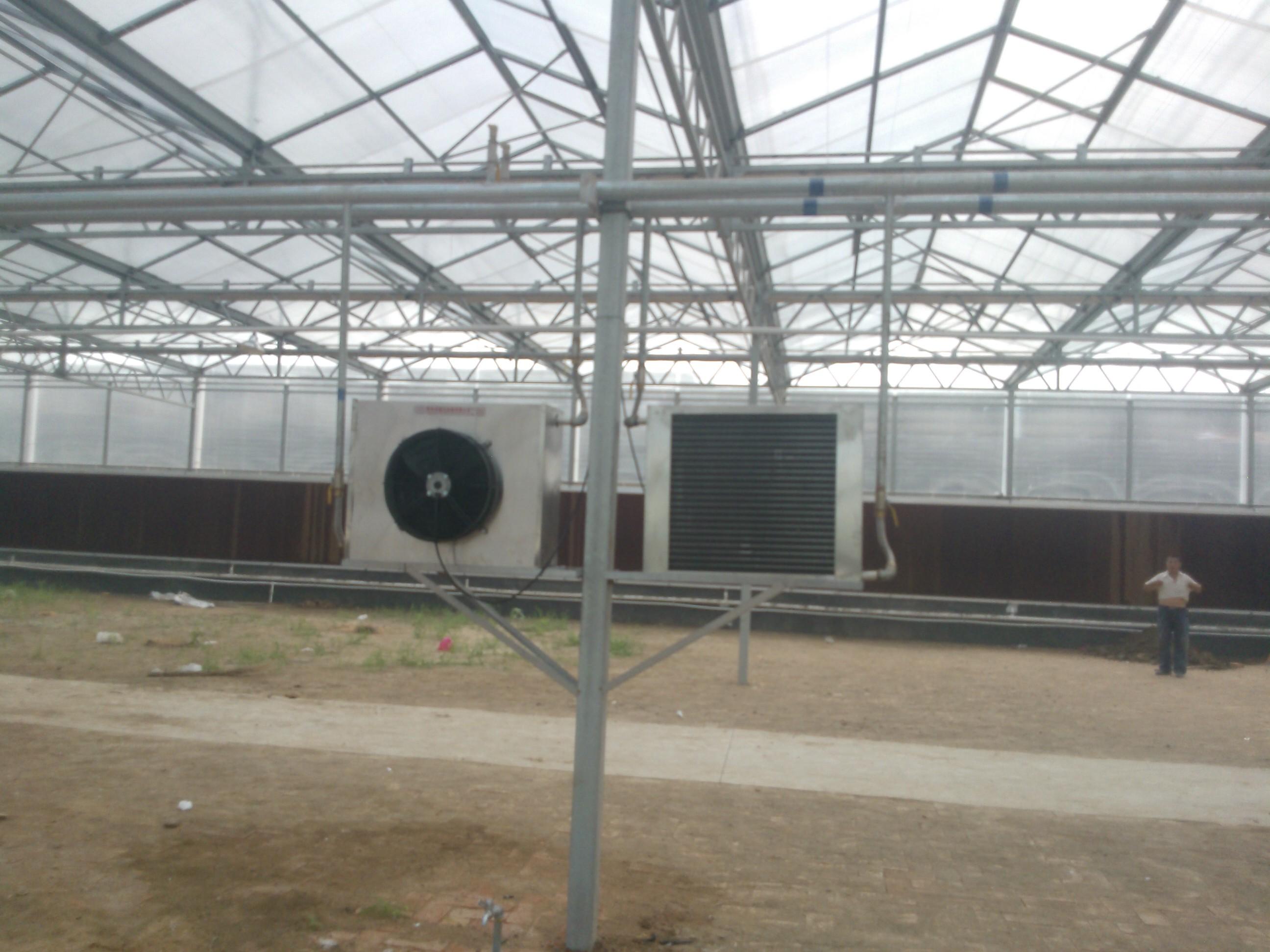 园艺暖风机温室花卉专用加温设备车间养殖供暖百合花加温