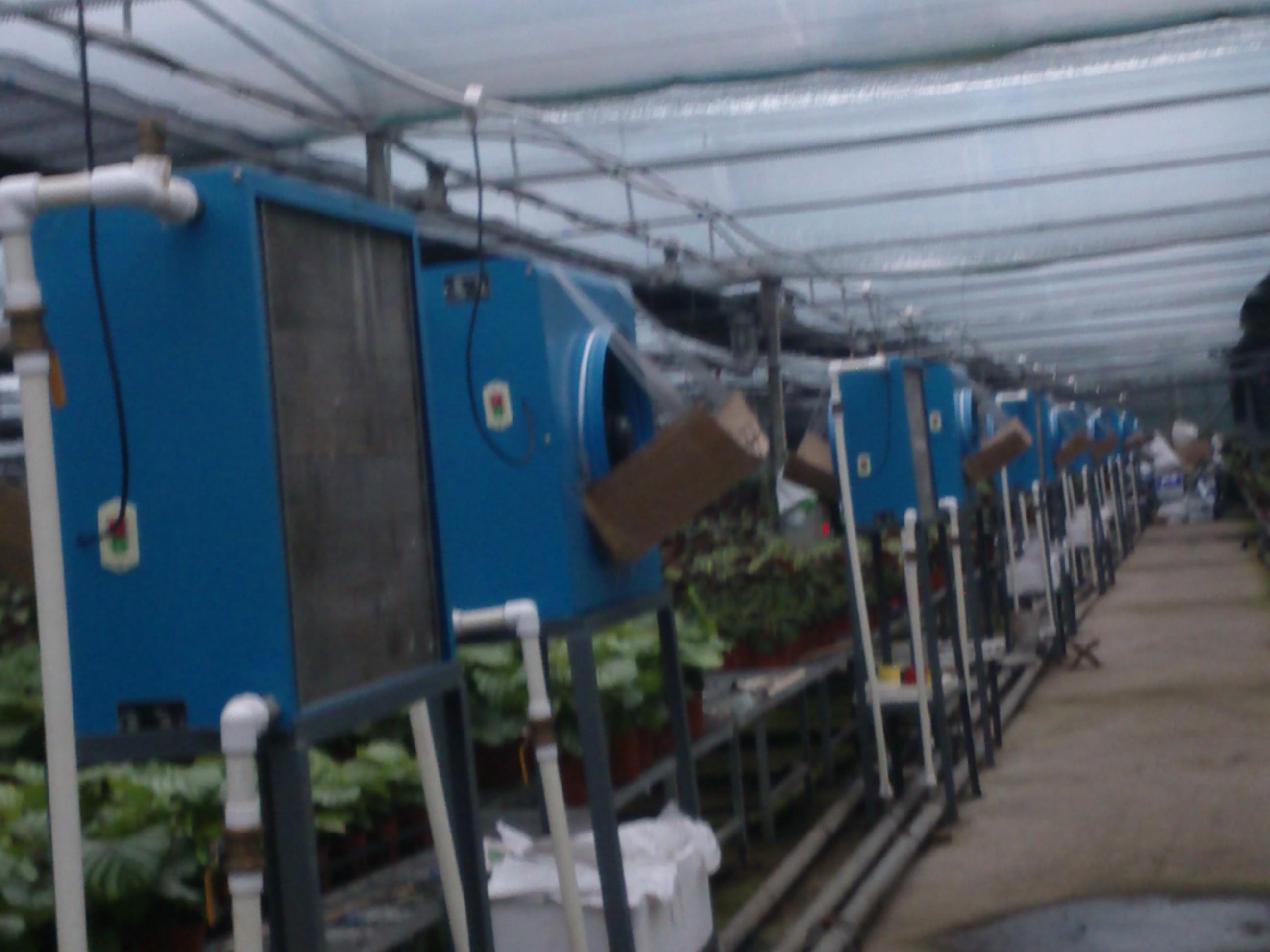 加温设备温室暖风机养殖加温机花卉采暖机械节能风机