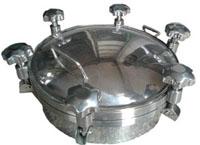 雨润机械科技供应高质量的不锈钢压力人孔,不锈钢人孔盖