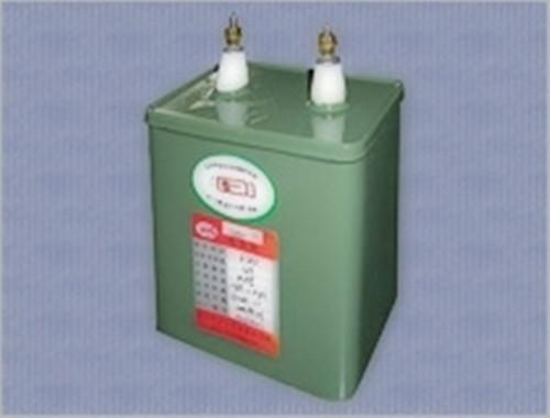 高压纸介电容器