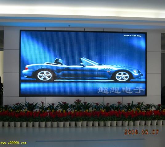 室内led显示屏效果图