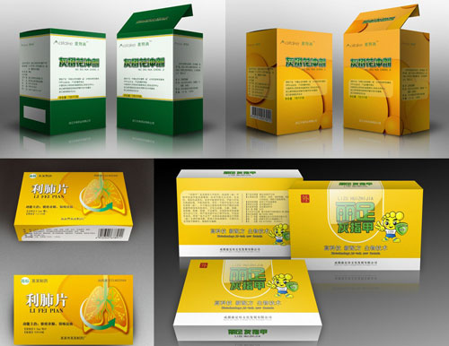 药品盒包装