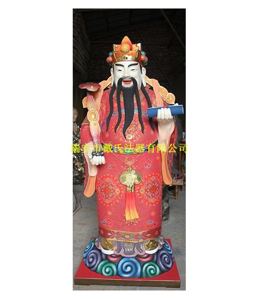 彩绘铜雕神像厂 温州哪里可以买到道教神像