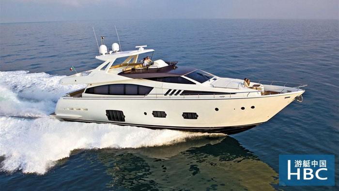 廈門游艇租賃-Ferretti Yachts 800