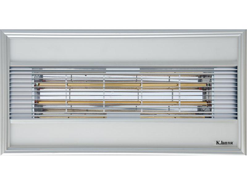 LED平板灯黄金管换气机