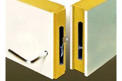 冷庫安裝示意圖:價格合理的冷庫板連接示意圖翔浩制冷供應