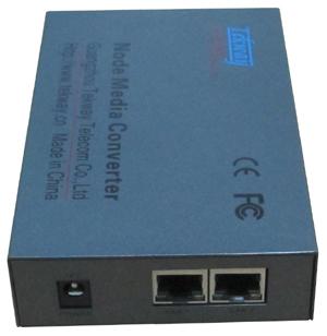 节点式百兆以太网光纤收发器