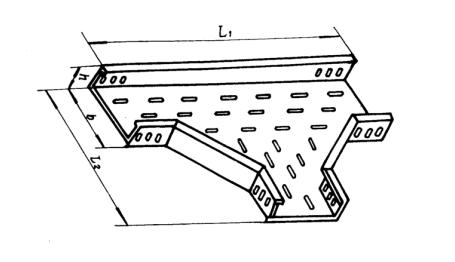 中马电缆桥架专业制造GQ1-P-03型托盘式水平三通怎么样,:无孔托盘式电缆桥架