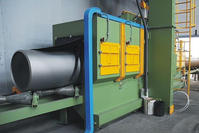 河北好的鋼管拋丸機供應:鋼管內壁拋丸機廠家