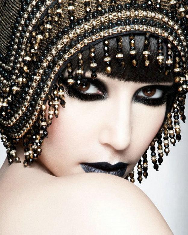 平面设计妆 t台舞台妆时尚造型