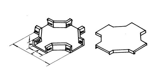 北京哪里有供应价格合理的GQ1-C-04A型槽式上水平四通:代理GQ1-C-04A型槽式上水平四通