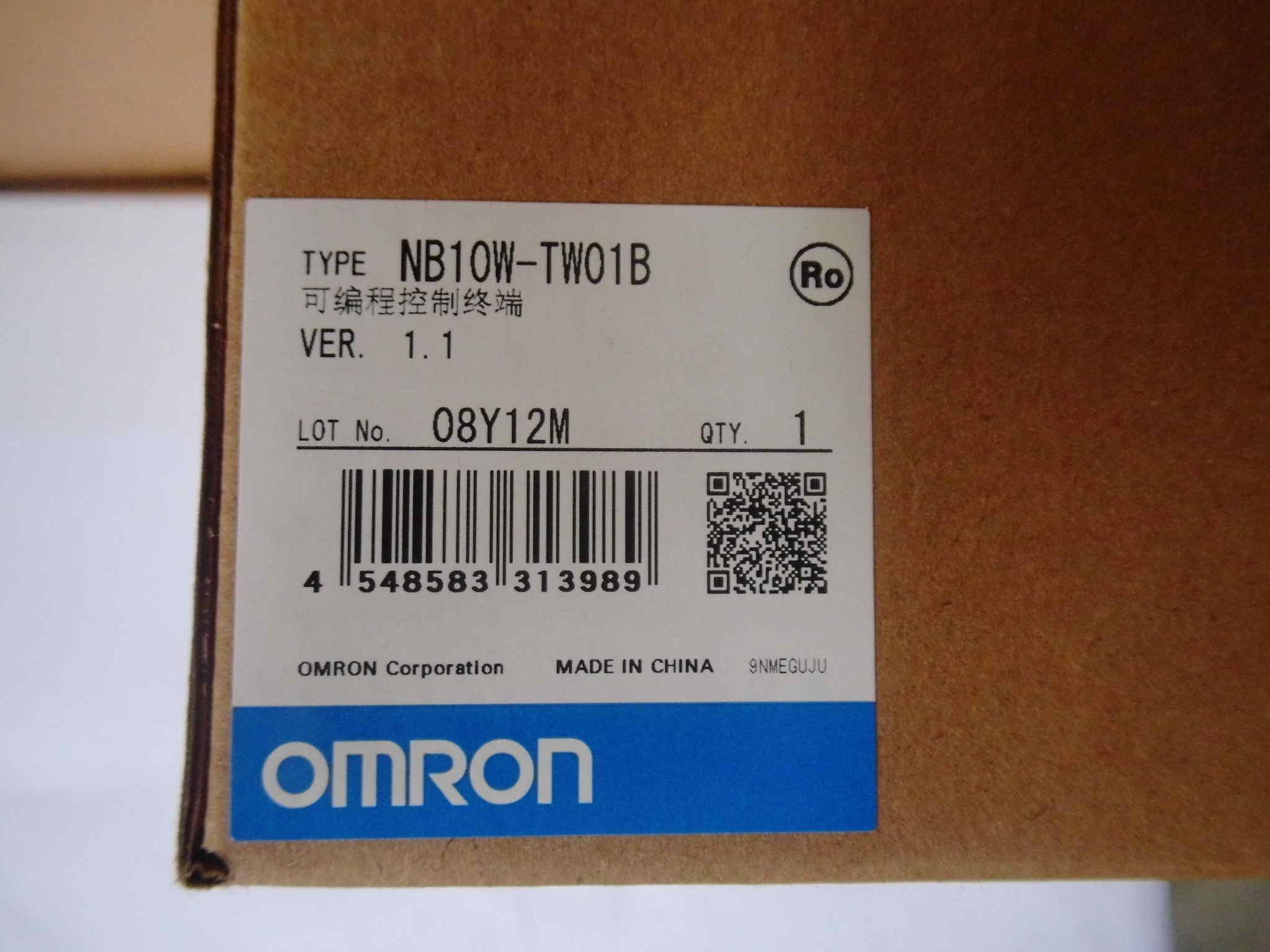 歐姆龍觸摸屏NB10W-TW01B特價出售