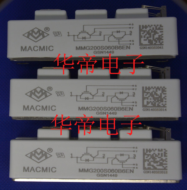 MMG200S060B6EN宏微代理IGBT模塊電焊機配件