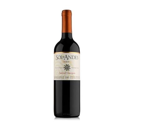 安第斯太阳梅乐红葡萄酒低价批发|河南超值的安第斯太阳梅乐红葡萄酒供应