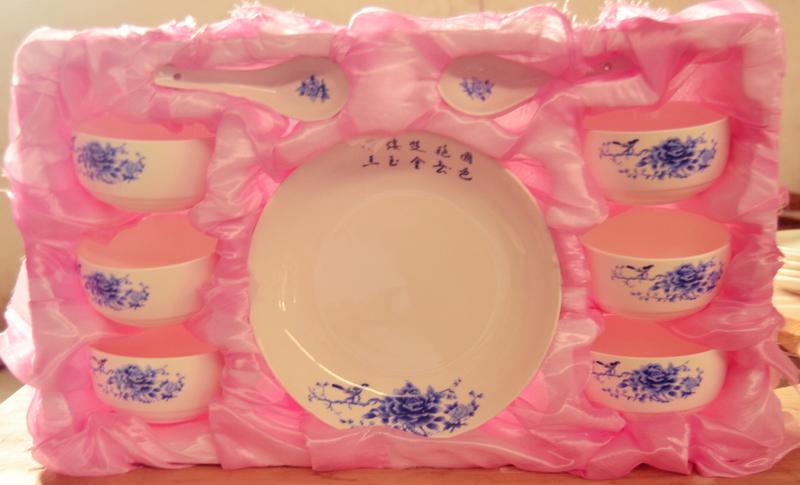 陶瓷碗厂家直销|潮州哪里有供应划算的青花碗套装