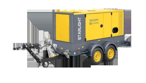 西安星光18005264886發電機批發-陜西耐用的移動拖車柴油發電機組供銷