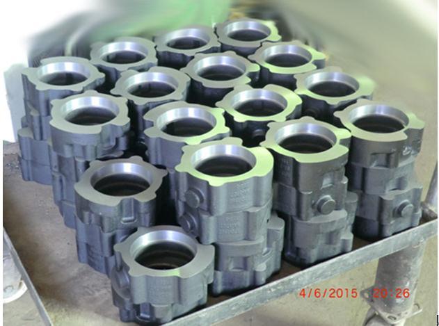 变速箱输出轴轴承盖铸造