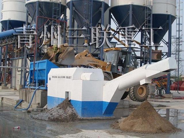 混凝土回收机之单车位沙石分离机