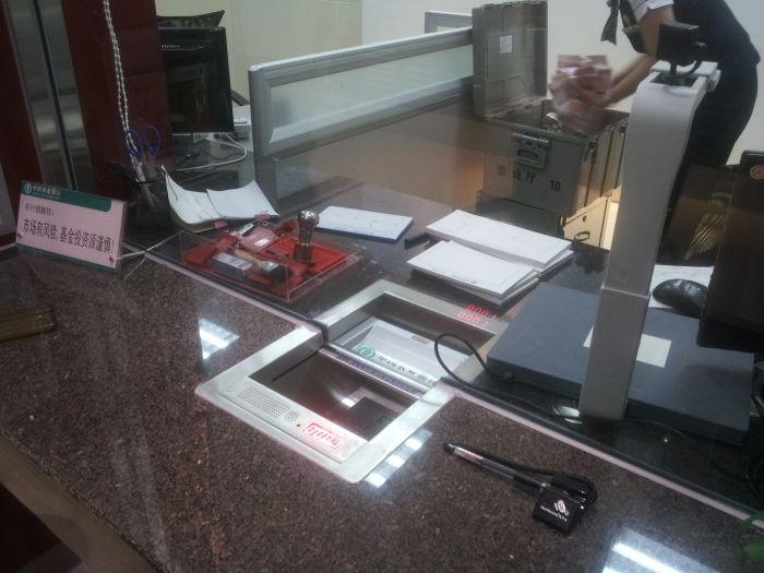 银行专用恩尊收银槽 通道槽 放钱槽 安全槽 银行车站适用