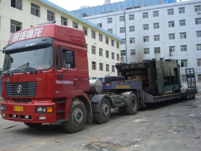 西安到贵州铜仁翻斗车异形大型重型工程机械设备物件的超限运输