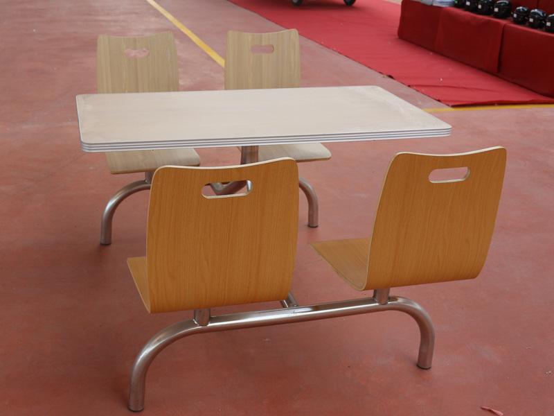單位食堂餐桌椅