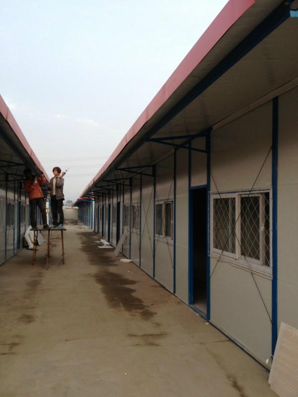 活动板房认准华幸彩钢板活动板房厂 常州彩钢板房