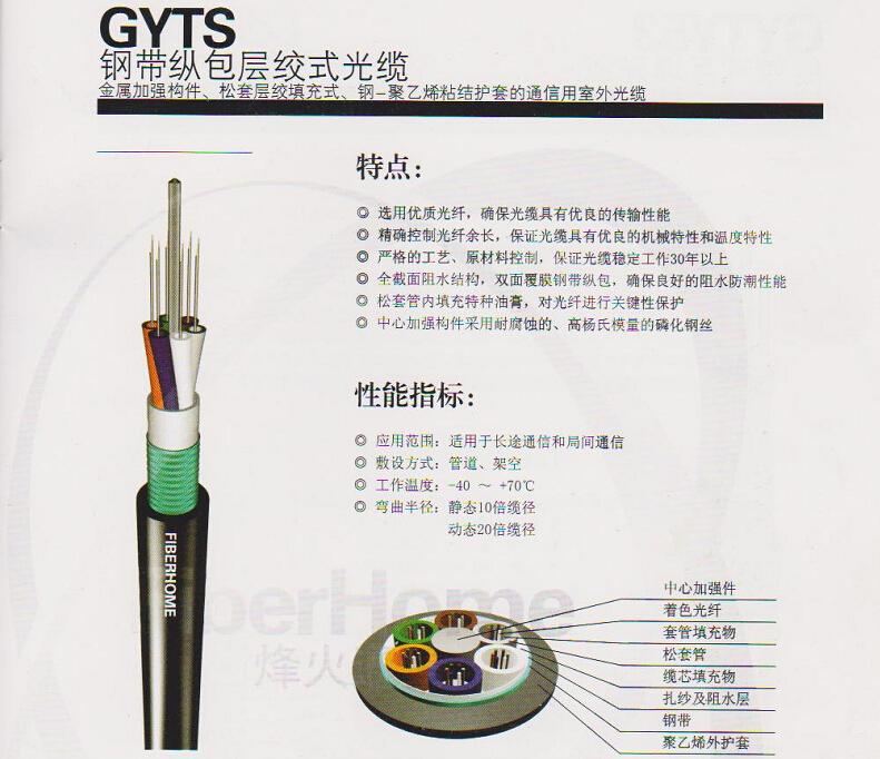 碑林4芯8芯12芯24芯光缆,价位合理的烽火室外通信光缆品牌推荐