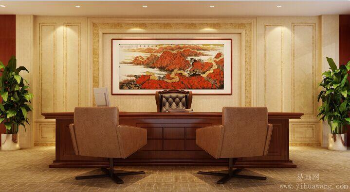 深圳划算的风水字画哪里可以买到,专业的餐厅挂画